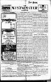 Westminster Gazette Friday 03 October 1913 Page 1