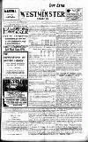 Westminster Gazette Thursday 08 January 1914 Page 1