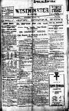 Westminster Gazette Wednesday 03 November 1920 Page 1