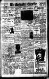 Westminster Gazette Thursday 20 October 1927 Page 1