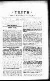 """TRUTH """" Cultores Veritatis Fraudis Inimici.""""—CsCero. No. 511. VOL. XX."""