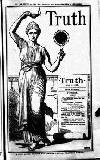 Truth Thursday 18 January 1900 Page 1