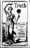 Truth Thursday 11 February 1904 Page 1