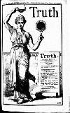 Truth Wednesday 22 January 1913 Page 1
