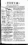 Truth Wednesday 22 January 1913 Page 3