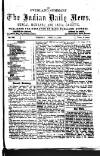 tr AND INDIA GAZETTE. BY EACH OVERLAND EXPRESS. UM= nt 10, British Indian fittest, Oalenitta.