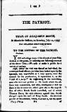 Patriot; or, Political, Moral, and Philosophical Repository Consisting of Original Pieces Tuesday 30 July 1793 Page 37