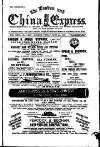 London and China Express Friday 21 June 1889 Page 1