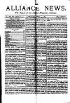Alliance News Saturday 24 April 1886 Page 1
