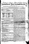 Australian and New Zealand Gazette